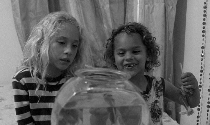 Lana Rockwell and Nico Rockwell in LITTLE FEET.