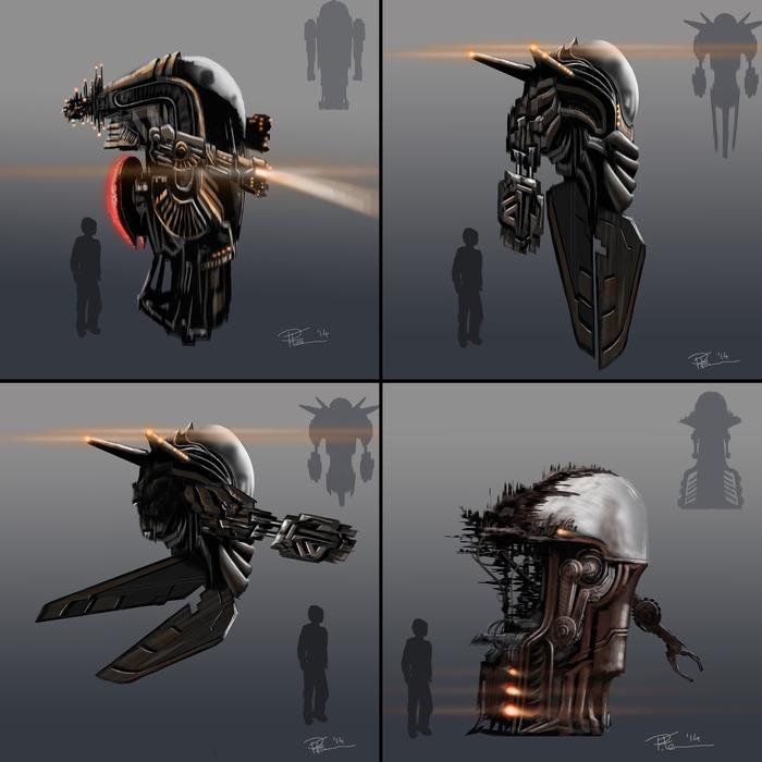 HUD Concept Art