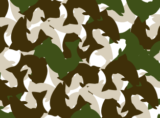 Wallpaper - Fish Camo