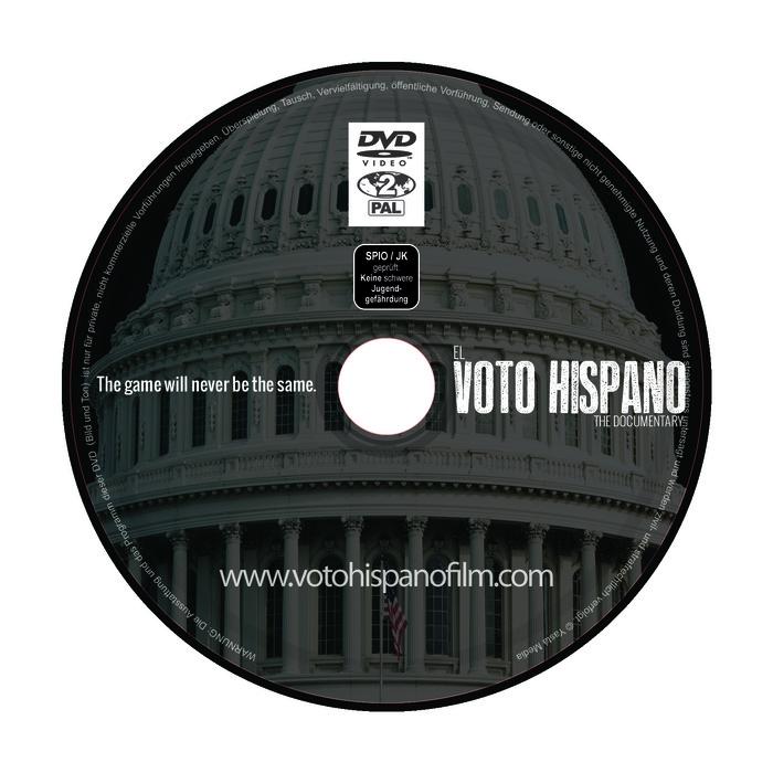 """Special Edition Director's Cut DVD copy of """"EL VOTO HISPANO"""""""
