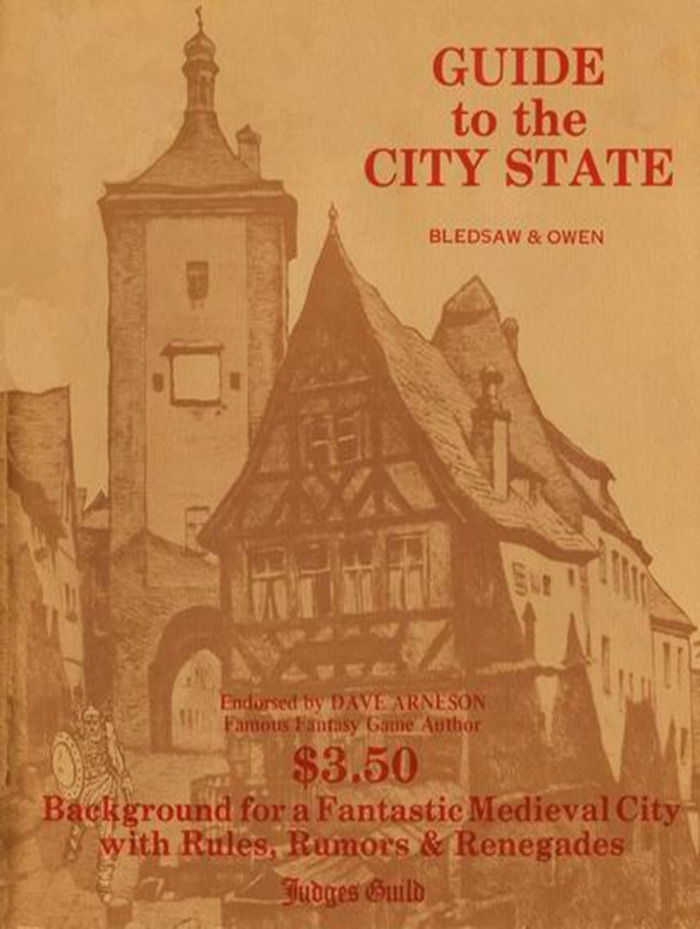 The Original City State of the Invincible Overlord cover from 1977.
