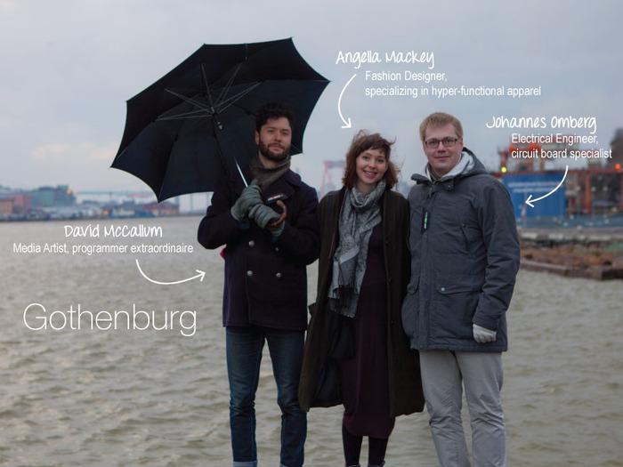 Windy, rainy Gothenburg!