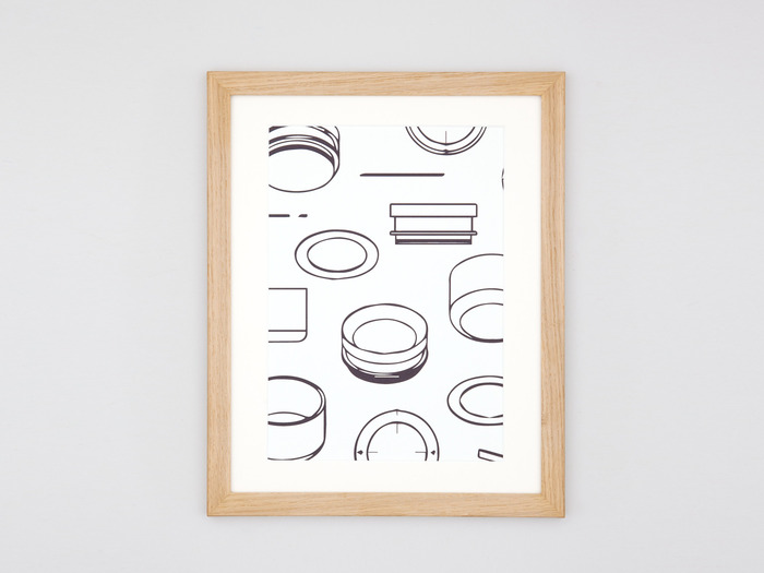 The first Obtineo Print of 100 is available in a solid oak frame, crafted here in York.