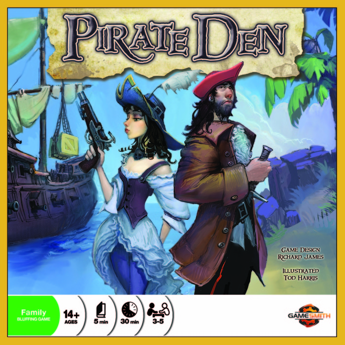 Pirate Den cover (not final art)