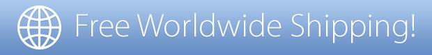 All Kickstarter rewards tiers include FREE worldwide shipping!