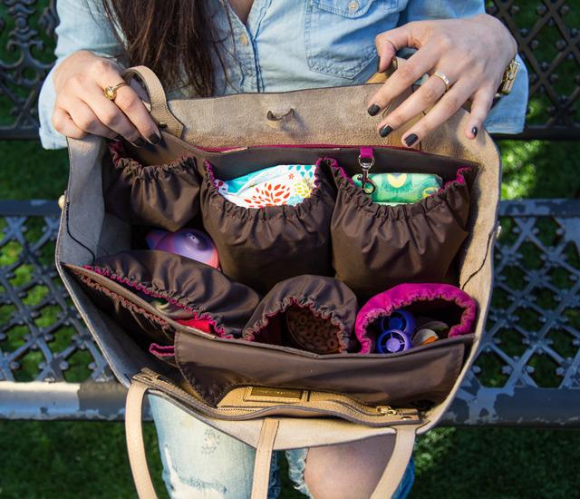 Handbag Organizer For Mom By Lauren Crafford Kutting