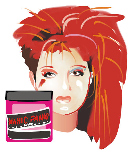 C is for Cyndi Lauper. (And her hair dye is from Queens too!)