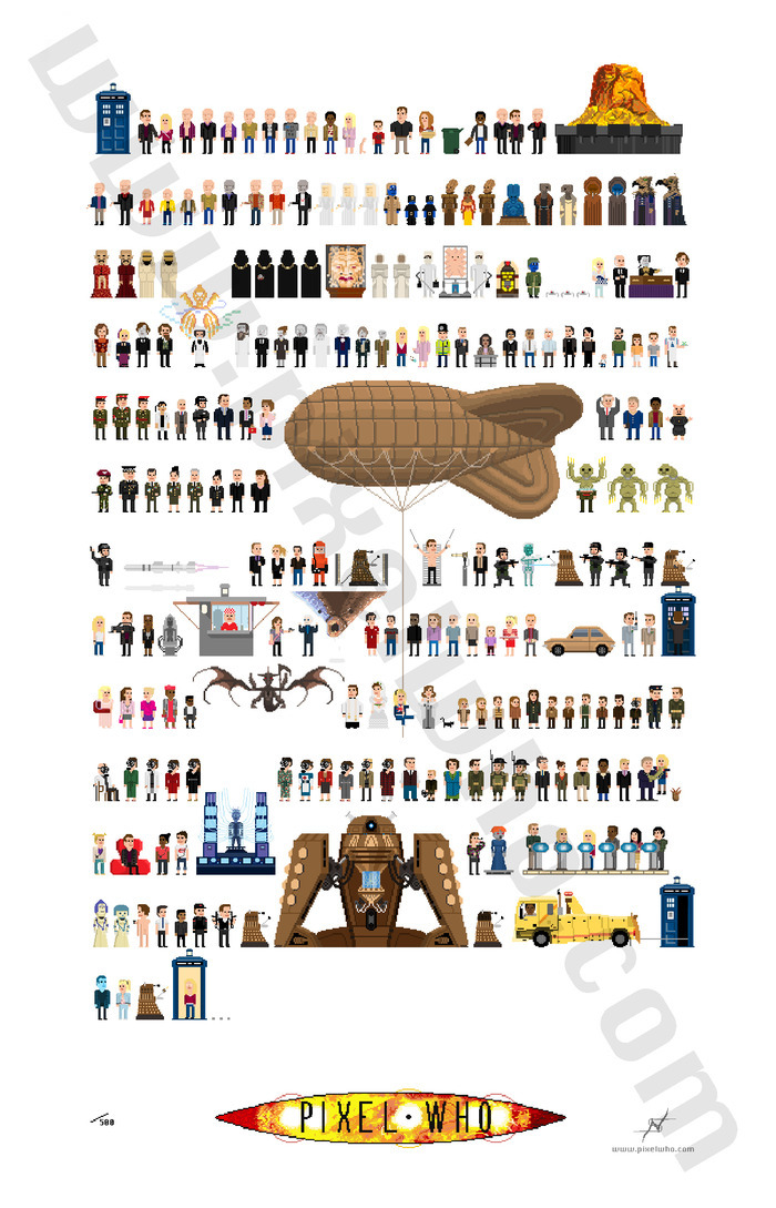 9th Doctor Poster - 18 x 28 inches, 240 characters