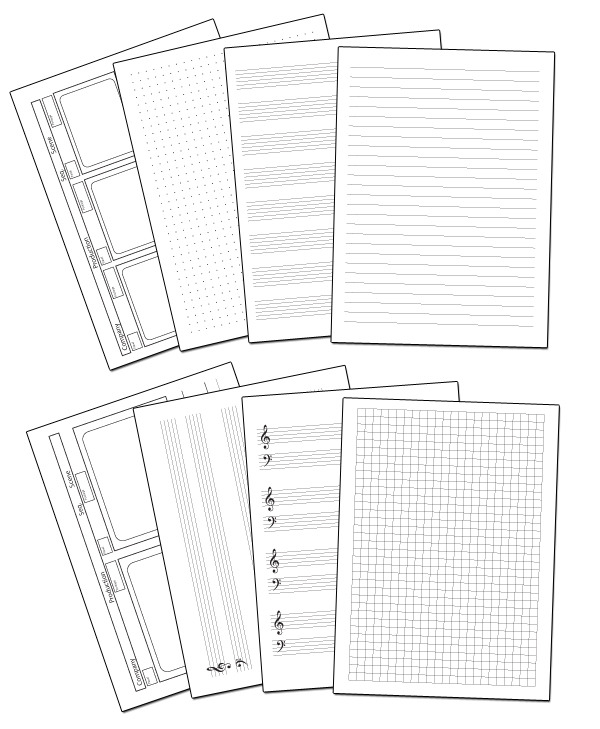 Just a few of the templates in the Ultimate Freedom Options