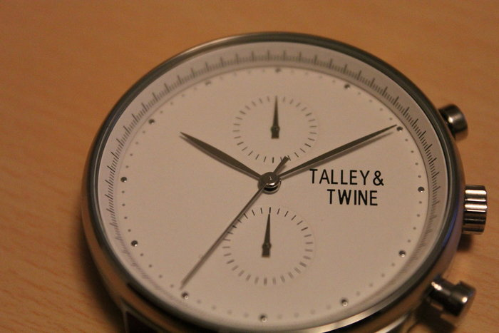 Early sample of the Worley Chronograph