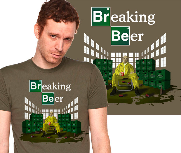 Breaking Beer - if only brewing beer was as exciting as meth.