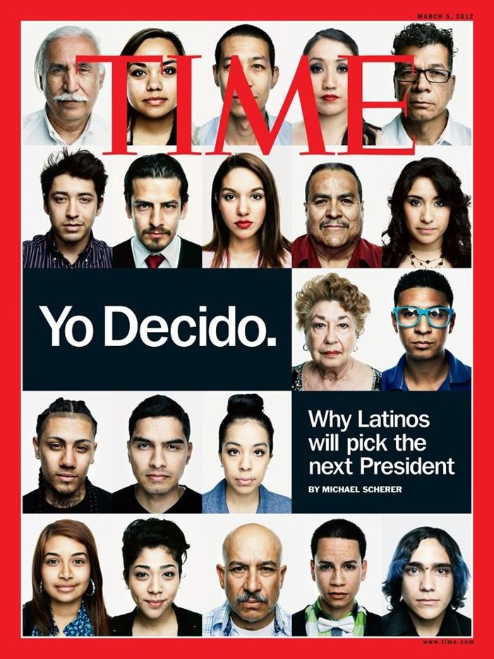Cover of Time Magazine - March 2012