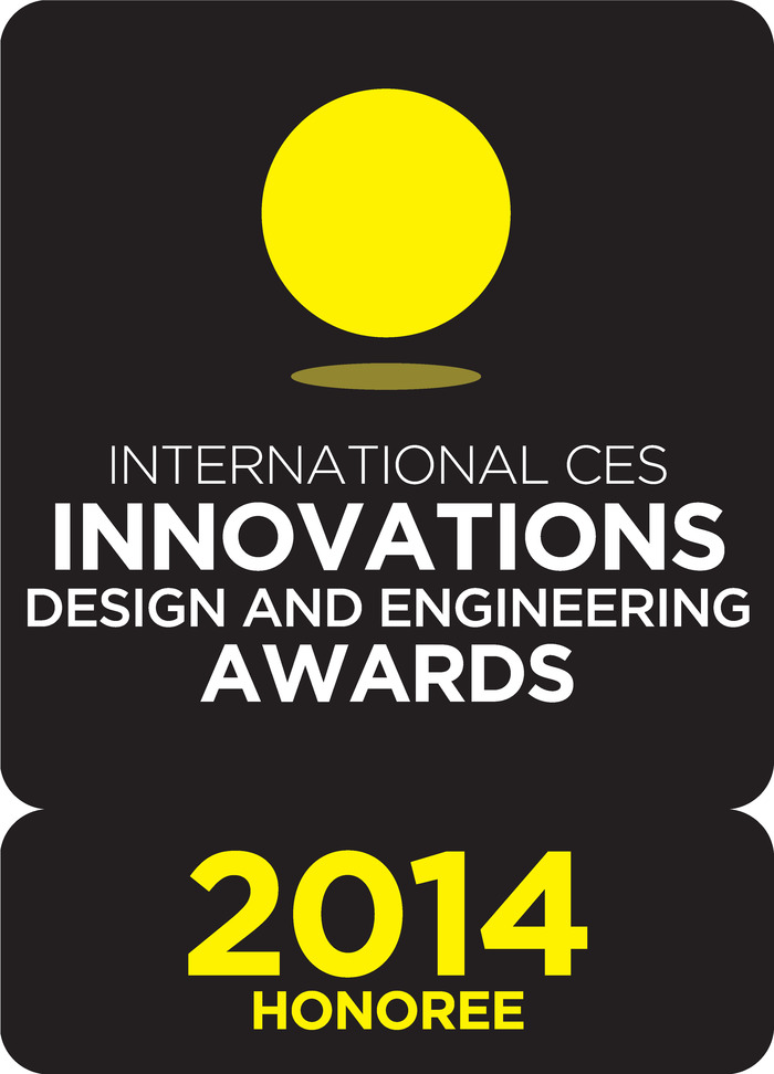The superior sound quality is turning the industry on its ear and was named as International CES Innovations 2014 Design and Engineering Awards Honoree.