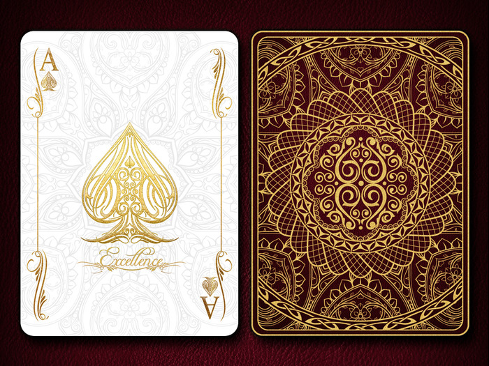 Excellence Bicycle® Playing Cards Deck by Elite Playing Cards ...