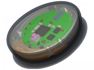 smart button 3D diagram