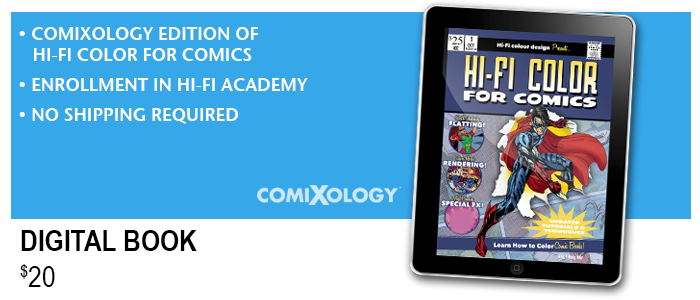 *ComiXology edition is compatible with iPad, iPhone, Android, Kindle, & Windows 8 Tablets.