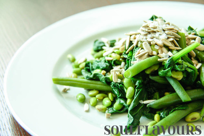 Light and green stir-fry