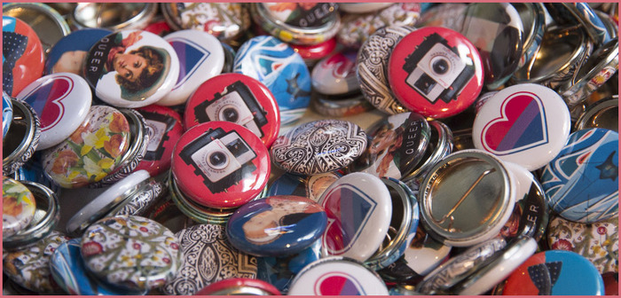 FLUID buttons - one of a kind designs!