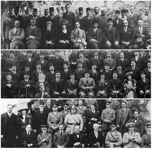 Can you find Gertrude Bell in each of these photos?