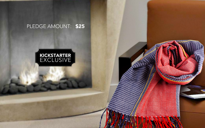 KICKSTARTER EXCLUSIVE: LIMITED EDITION COTTON SHAWL