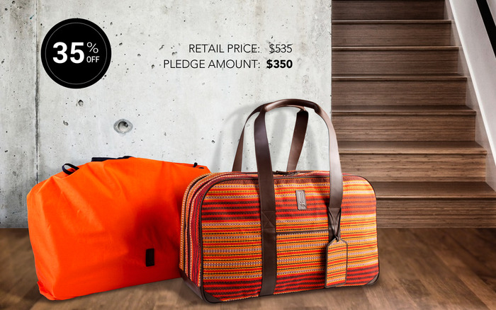 WEEKENDER BAG (23x10x15 inches)