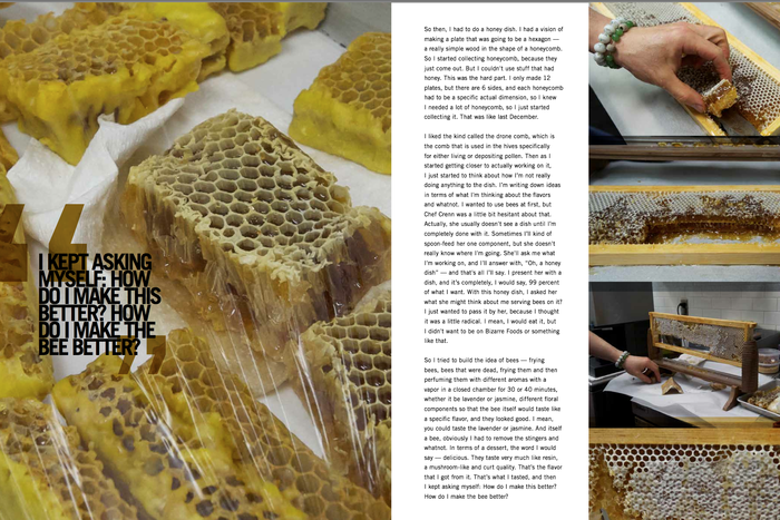 Juan Contreras, Atelier Crenn for Note From A Kitchen: Volume Three