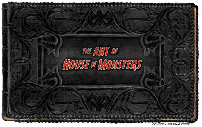 The Art of House of Monsters! For $100, you get a digital book full of concept art, character designs, set designs, storyboards and more. Available at the CHUPACABRA rewards tier.
