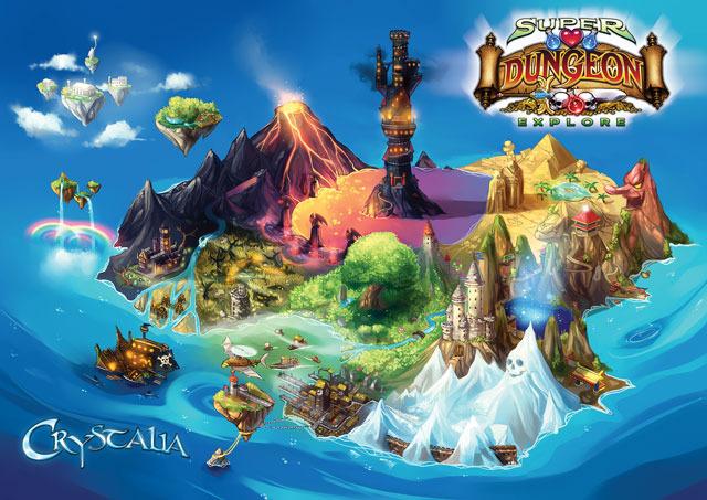 Kickstarter - Super Dungeon Explore: Forgotten King 287df0c386bf8287d2150b67bbb3f8dc_large
