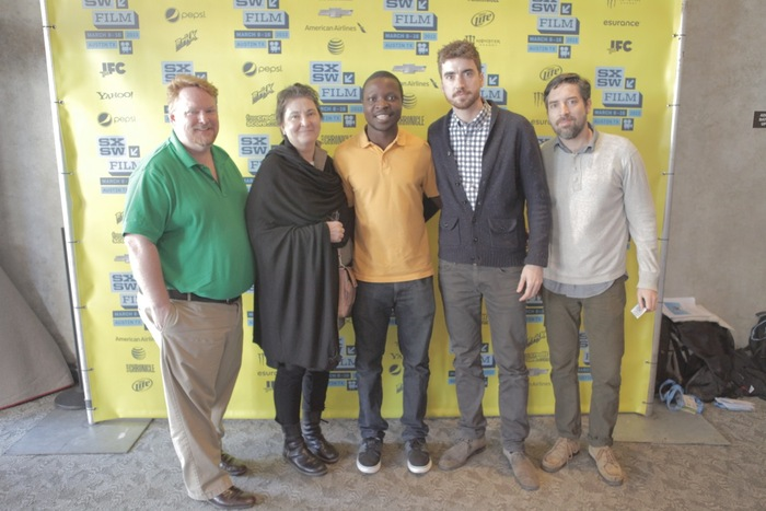 Members of the film's community at SXSW