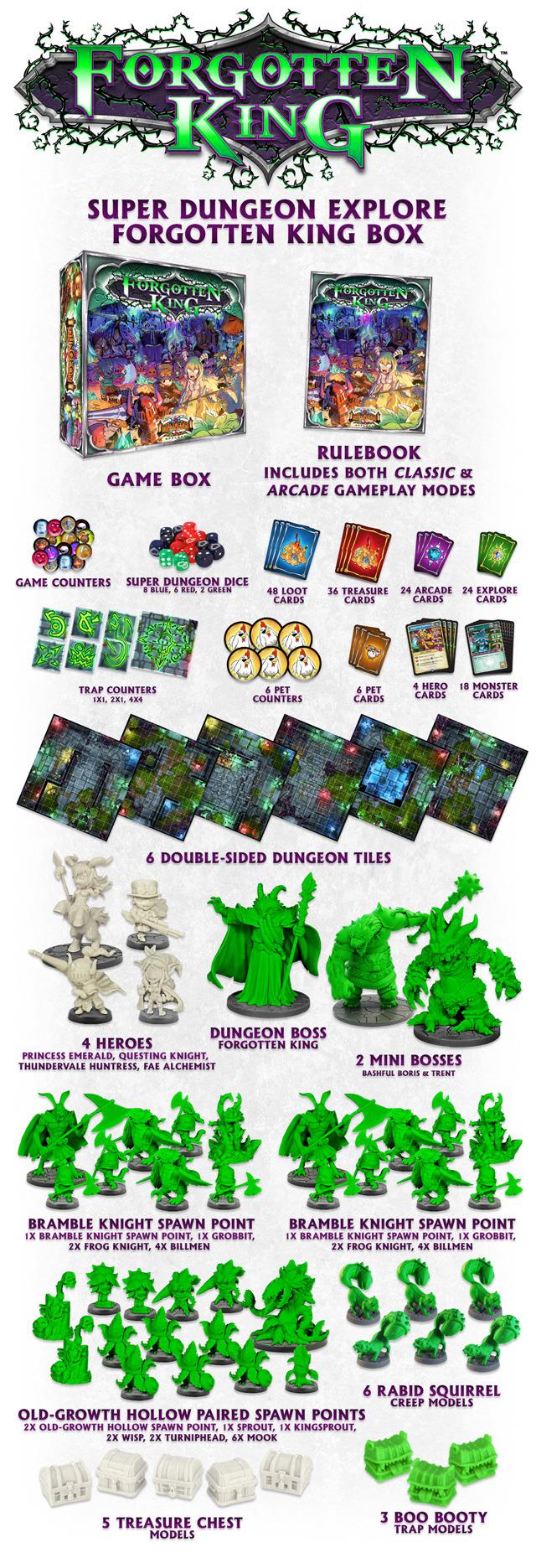 Kickstarter - Super Dungeon Explore: Forgotten King 03a3df4676fc5489abe155fd5b1227d7_large