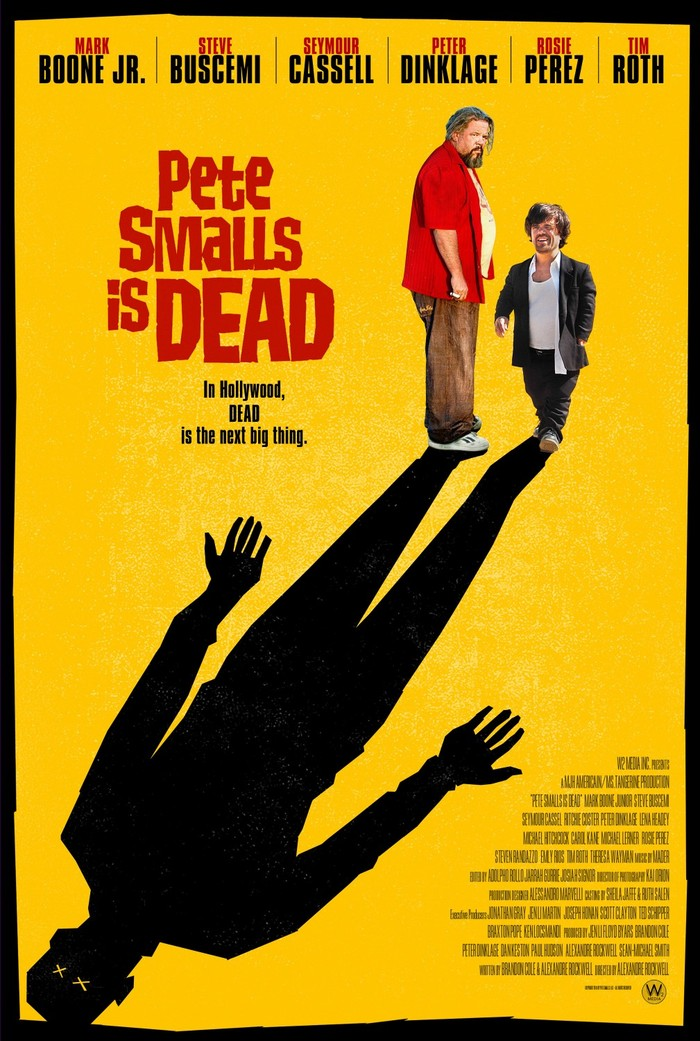 For signed PETE SMALLS IS DEAD poster by cast members