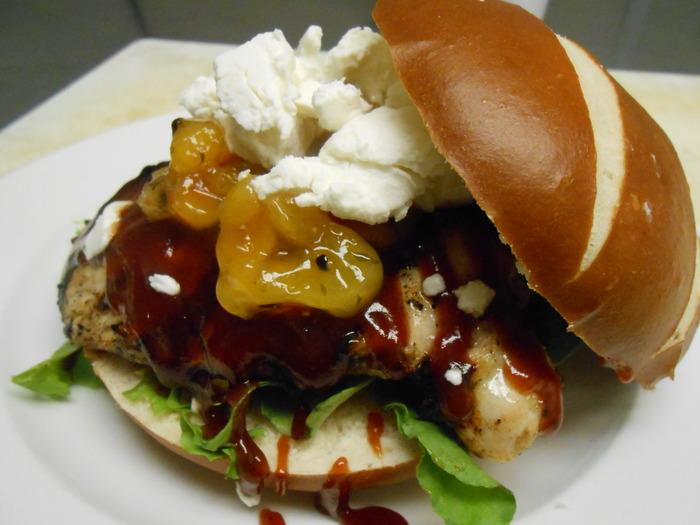This is our Chicken Sandwich, it's awesome!!!