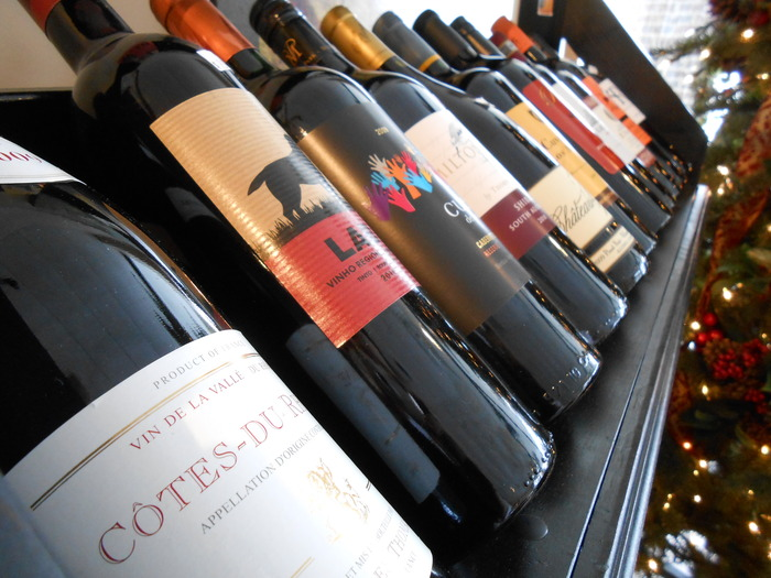 Our wine selection is inspiring.
