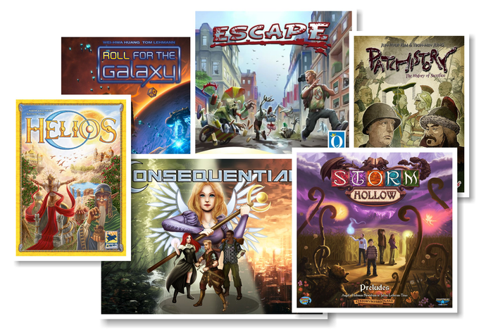 Just a few of the many games that could be coming soon, with your help...