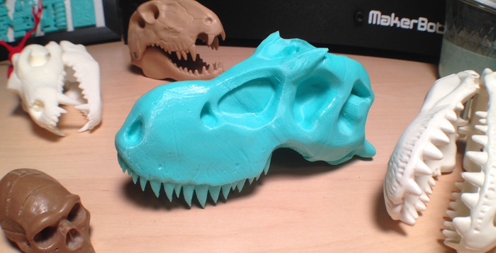 T.Rex hopes to come to a 3D Printer near you very soon!