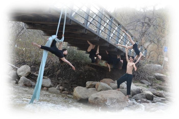 Bridge shoot with Rabble Dance Collective