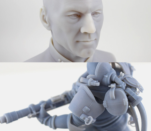 3D print samples from Moddler's portfolio