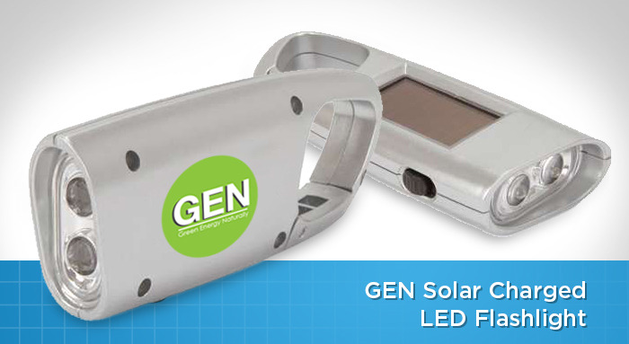Small GEN Solar Flashlight
