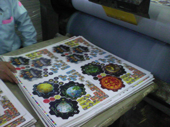 Punchboards in production!
