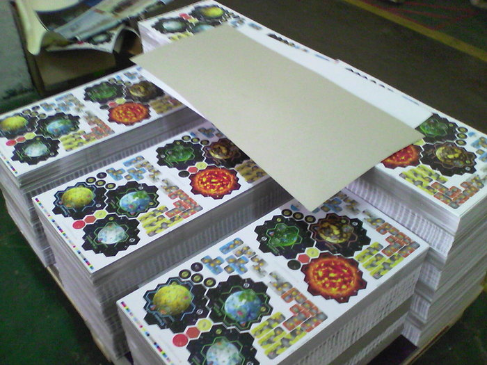 Punchboard - ready to be diecut!