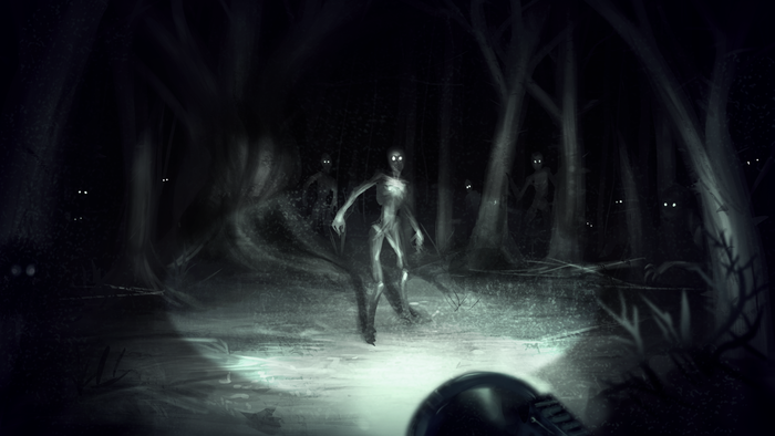 Concept Art for Grave game on Kickstarter for Linux Mac and PC