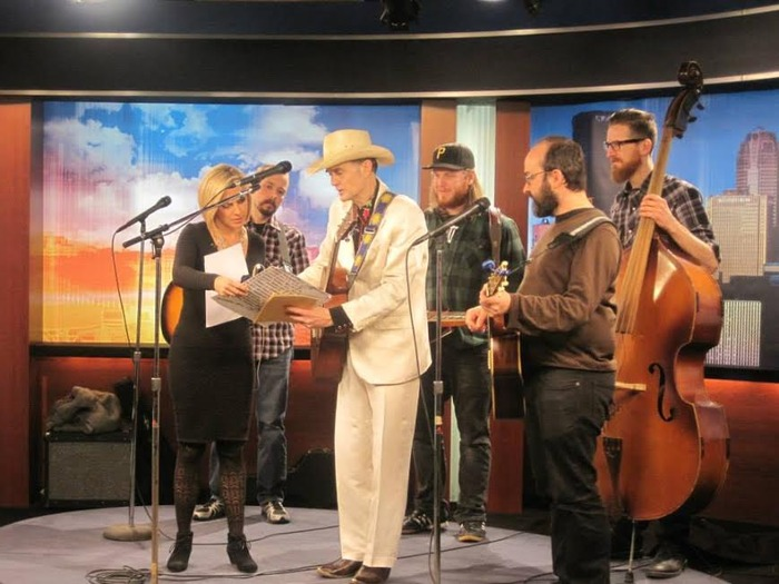 Slim and the Beagle Brothers on KDKA! (Click the photo above to watch the full performance!)