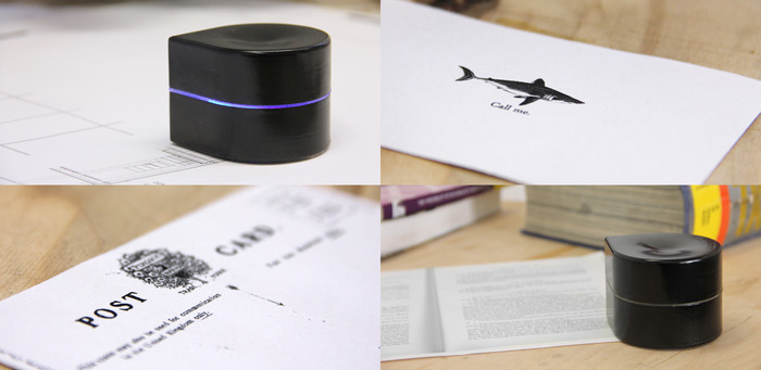 The Mini printer in all it's glory