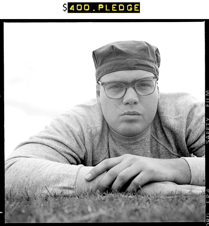 $400 for this limited edition fine art print (9 x 9-inch image on 11 x 14-inch sheet) of Vincent D'Onofrio (Pvt. Pyle) signed and numbered by Matthew Modine + your name in the photo booklet + all of the $15 rewards