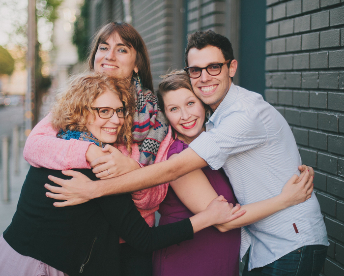 Awesome Hug from the COL Team for $50+ level at the launch party at Thee Parkside in Fall, 2014