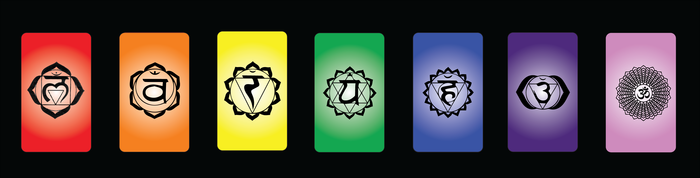 Chakra Cards (back)