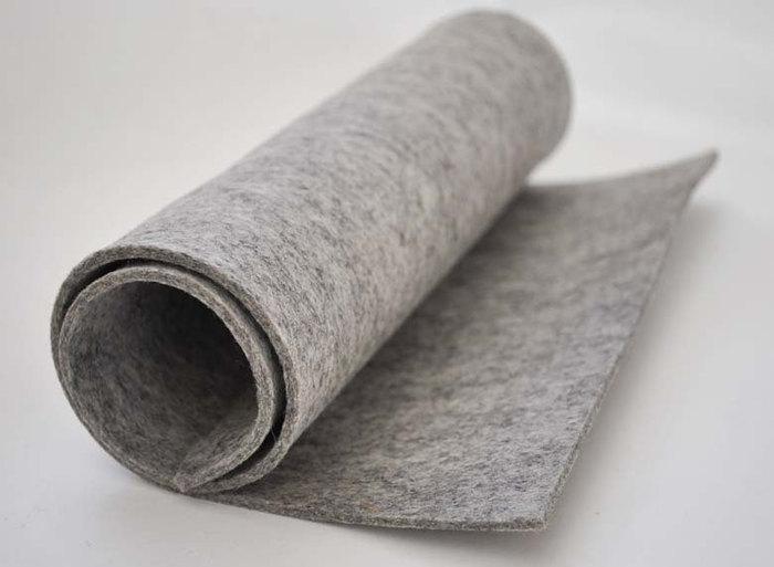 Roll of Australian Wool Felt