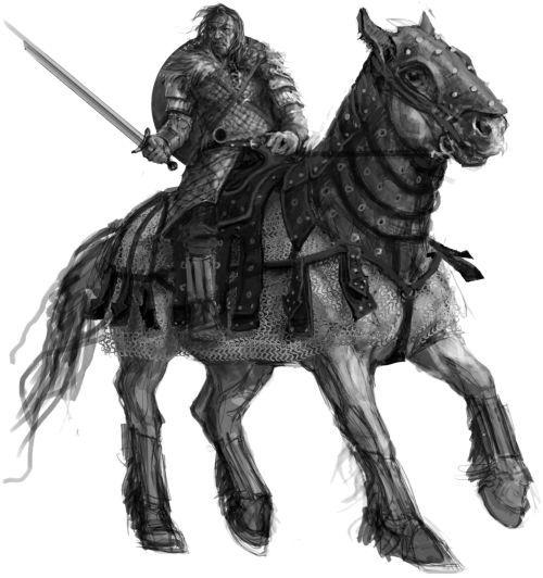 Uhtred on Horseback