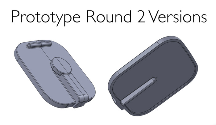 CAD Drawing of Prototype Rev 2