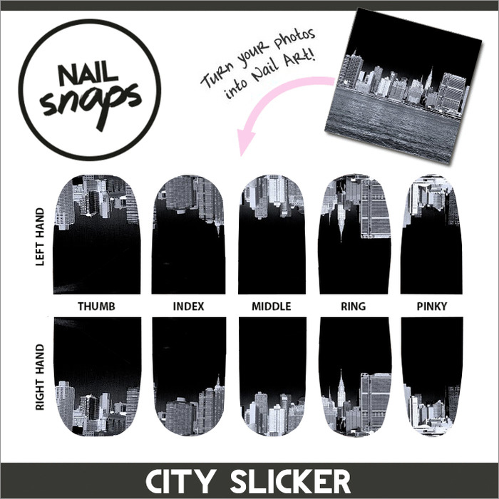 NEW BACKER REWARD! Chic nail art created exclusively for our Kickstarter backers by photographer Gregers Heering.